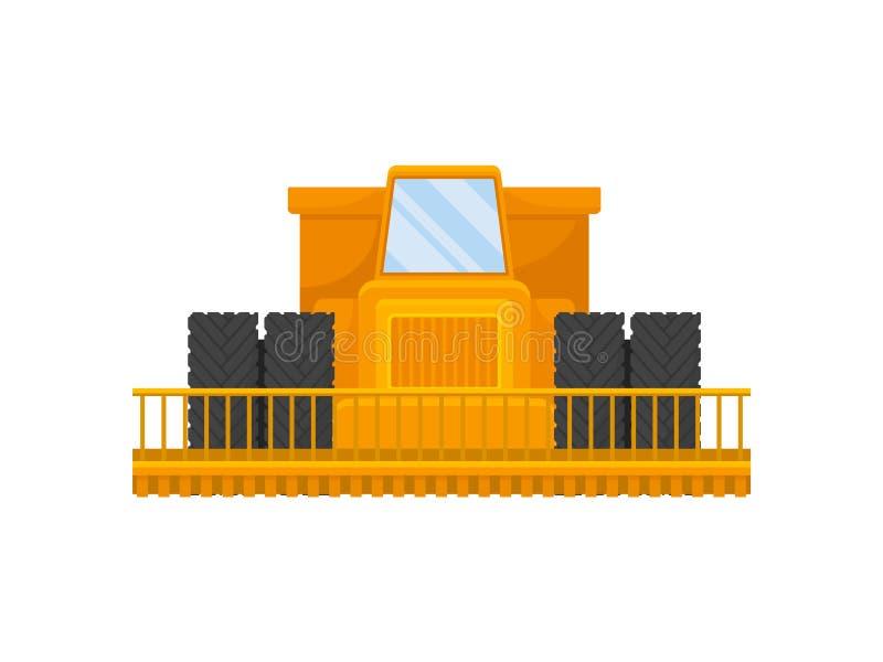 Μεγάλος κίτρινος συνδυάζει E απεικόνιση αποθεμάτων
