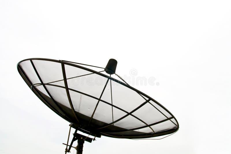 μεγάλος μαύρος δορυφόρ&omicro στοκ εικόνα με δικαίωμα ελεύθερης χρήσης