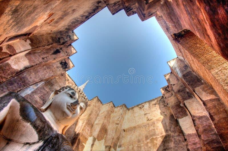 μεγάλος ναός srichum του Βούδα στοκ εικόνες