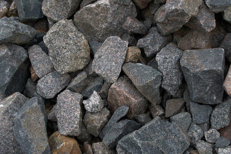 : μεγάλος συντριμμένος φυσικός φωτισμός πετρών στοκ εικόνα με δικαίωμα ελεύθερης χρήσης