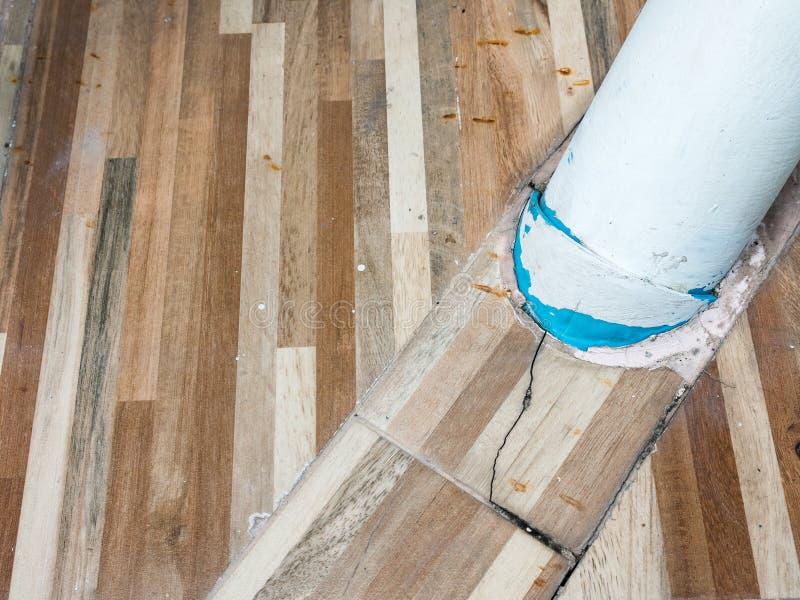 Μεγάλος σωλήνας PVC για την αποξήρανση στοκ φωτογραφία με δικαίωμα ελεύθερης χρήσης