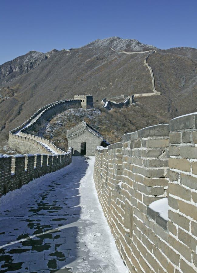 μεγάλος τοίχος Πεκίνου στοκ φωτογραφία με δικαίωμα ελεύθερης χρήσης