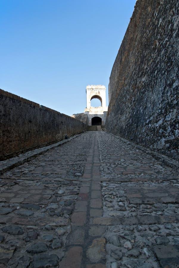 μεγάλος τοίχος kerkyra στοκ εικόνες με δικαίωμα ελεύθερης χρήσης