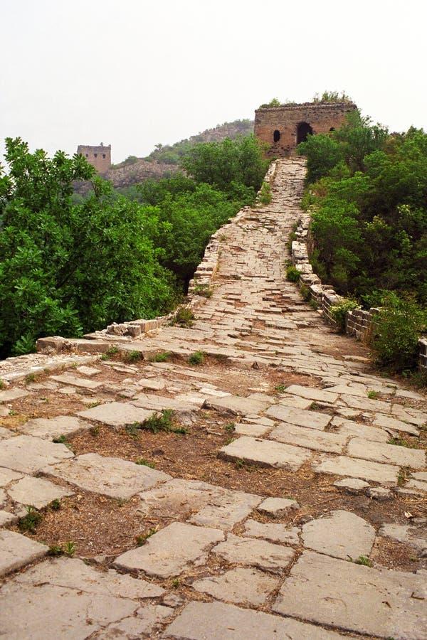 μεγάλος τοίχος simatai στοκ εικόνα