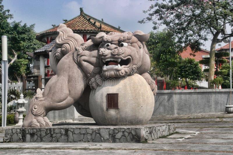 Μεγάλος φύλακας πετρών του ναού, Ταϊβάν στοκ φωτογραφίες