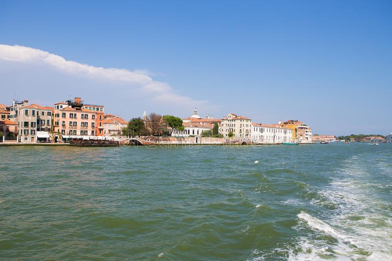 Μεγάλος χαιρετισμός della της Σάντα Μαρία καναλιών και βασιλικών, Βενετία, Ιταλία στοκ εικόνες