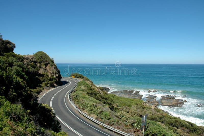μεγάλος ωκεάνιος δρόμος στοκ φωτογραφίες με δικαίωμα ελεύθερης χρήσης