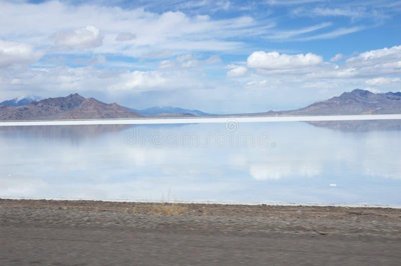μεγάλο άλας λιμνών στοκ φωτογραφίες με δικαίωμα ελεύθερης χρήσης