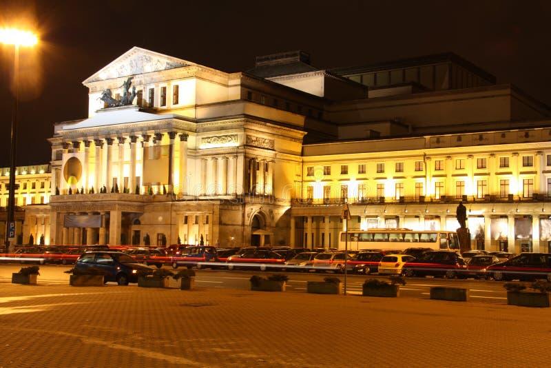 μεγάλο εθνικό θέατρο στι&la στοκ εικόνα