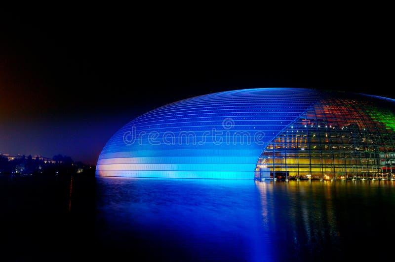 μεγάλο εθνικό θέατρο της Κίνας στοκ εικόνα με δικαίωμα ελεύθερης χρήσης