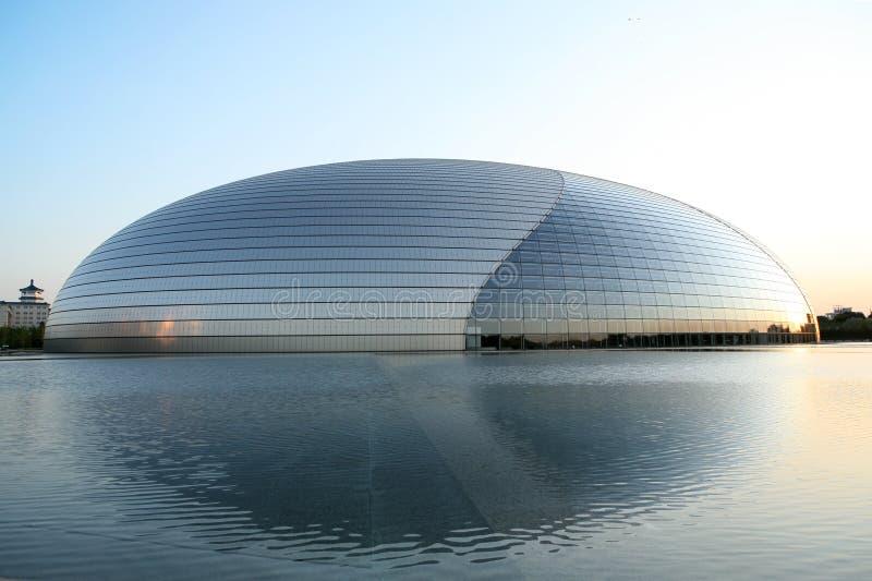 μεγάλο εθνικό θέατρο της Κίνας στοκ φωτογραφίες με δικαίωμα ελεύθερης χρήσης