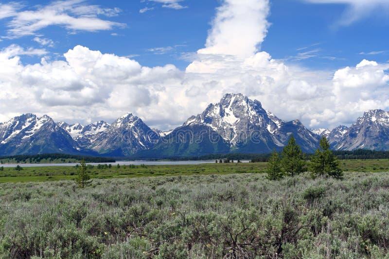 μεγάλο εθνικό πάρκο teton στοκ φωτογραφία με δικαίωμα ελεύθερης χρήσης