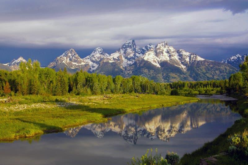 μεγάλο εθνικό πάρκο teton στοκ φωτογραφία