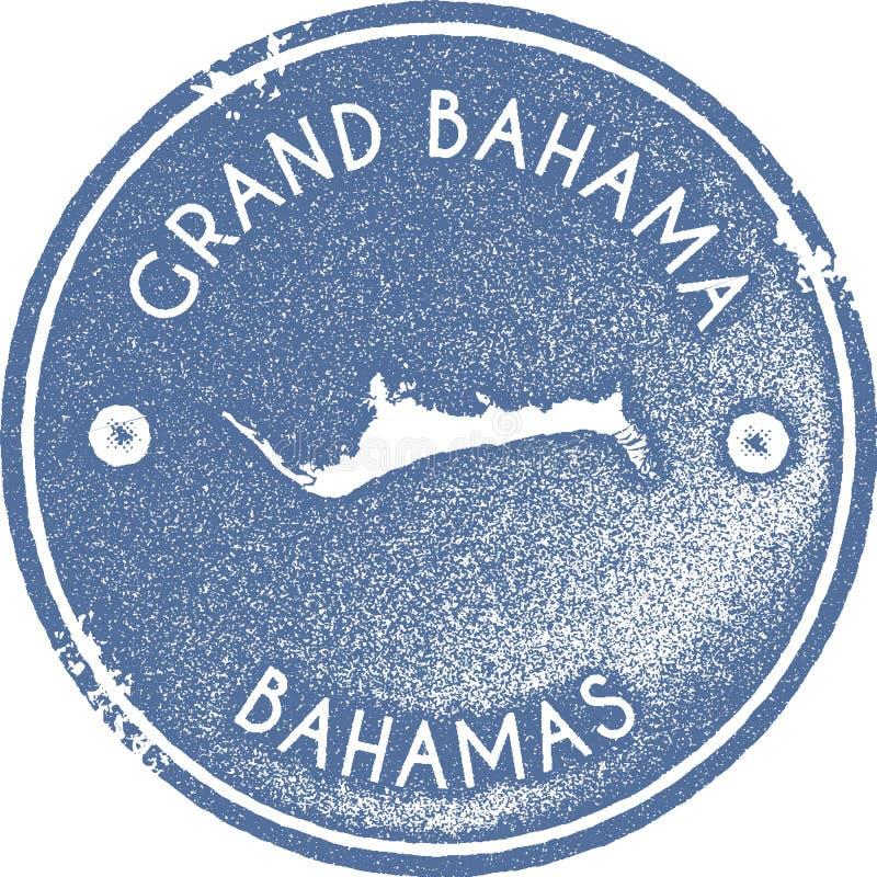 Μεγάλο εκλεκτής ποιότητας γραμματόσημο χαρτών Bahama ελεύθερη απεικόνιση δικαιώματος