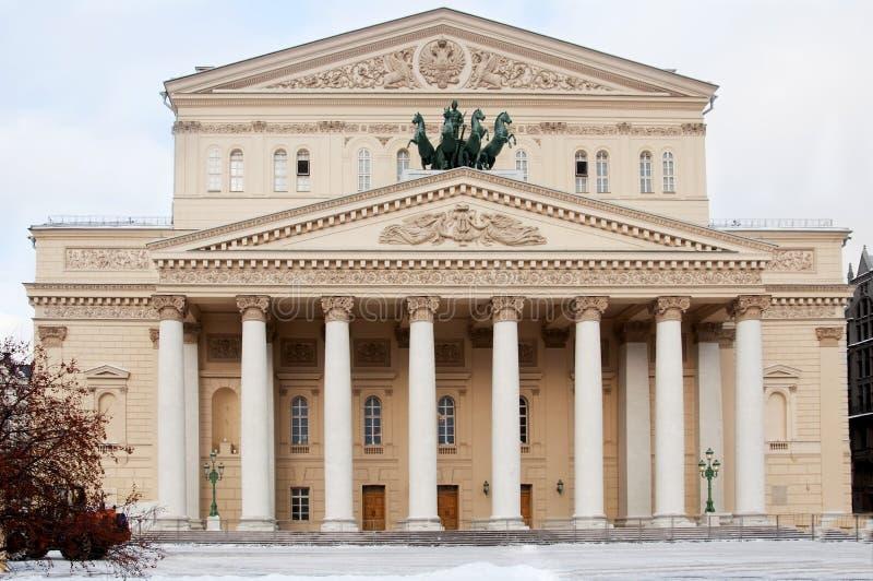 μεγάλο θέατρο της Μόσχας &Rho στοκ εικόνες