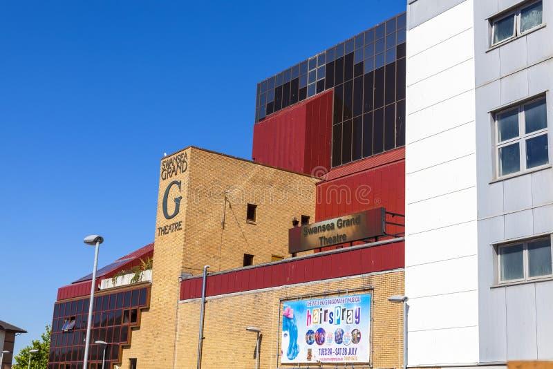 Μεγάλο θέατρο του Σουώνση στοκ φωτογραφία με δικαίωμα ελεύθερης χρήσης