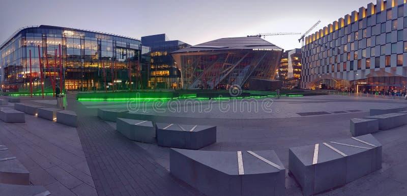 Μεγάλο κανάλι του Δουβλίνου στοκ εικόνες