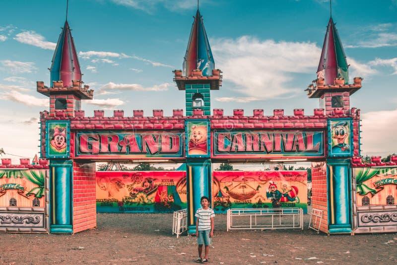 Μεγάλο καρναβάλι Perya στοκ φωτογραφία με δικαίωμα ελεύθερης χρήσης