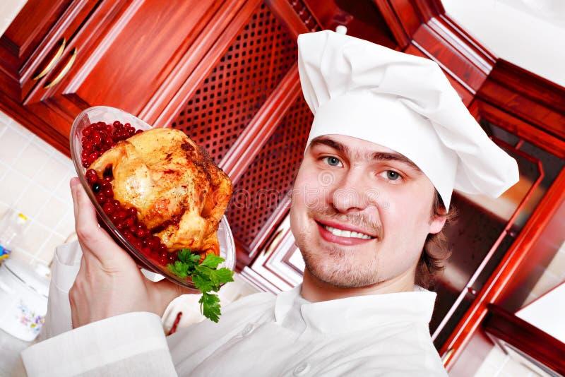 μεγάλο κοτόπουλο στοκ εικόνα με δικαίωμα ελεύθερης χρήσης