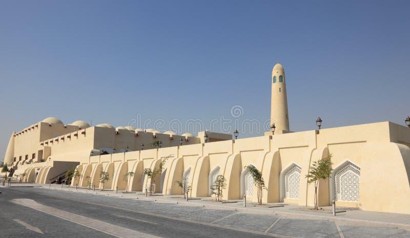 μεγάλο κράτος του Κατάρ μουσουλμανικών τεμενών doha στοκ φωτογραφίες με δικαίωμα ελεύθερης χρήσης