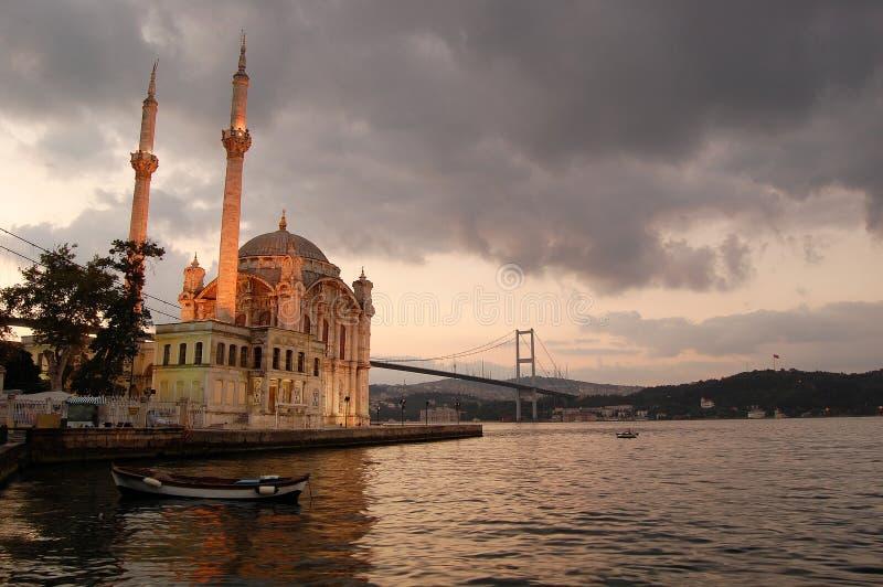 μεγάλο μουσουλμανικό τέμενος mecidiye στοκ φωτογραφία με δικαίωμα ελεύθερης χρήσης