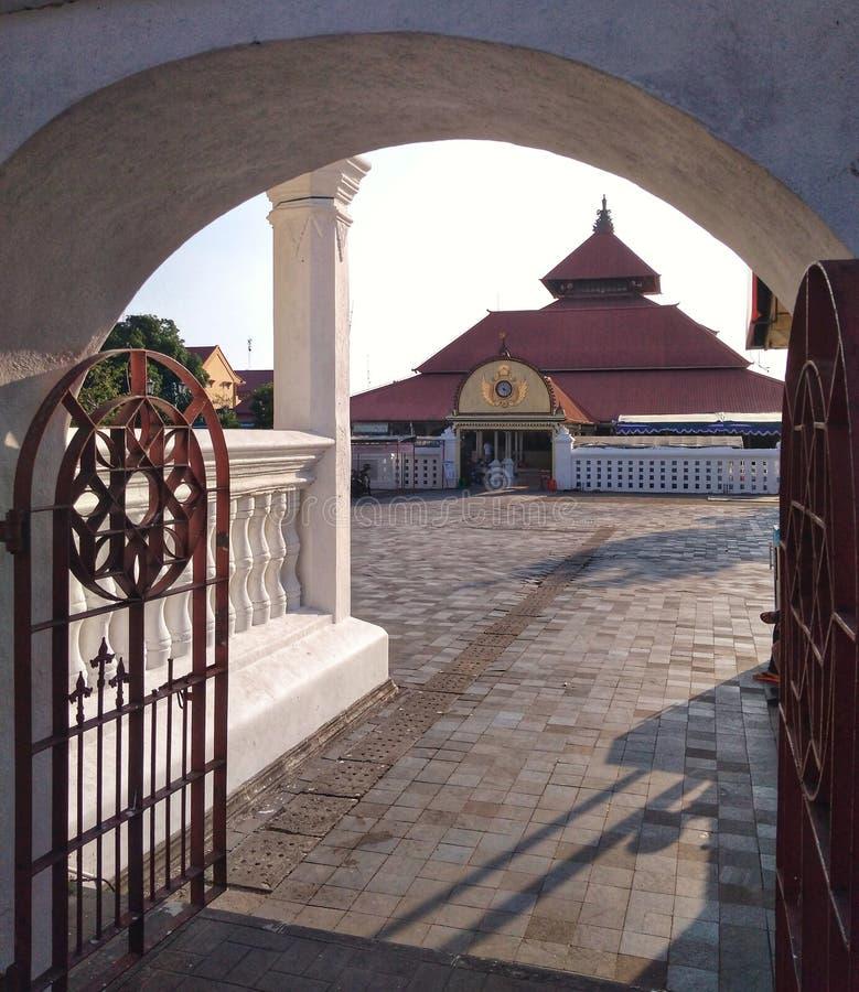 Μεγάλο μουσουλμανικό τέμενος Yogyakarta Kauman στοκ φωτογραφία με δικαίωμα ελεύθερης χρήσης
