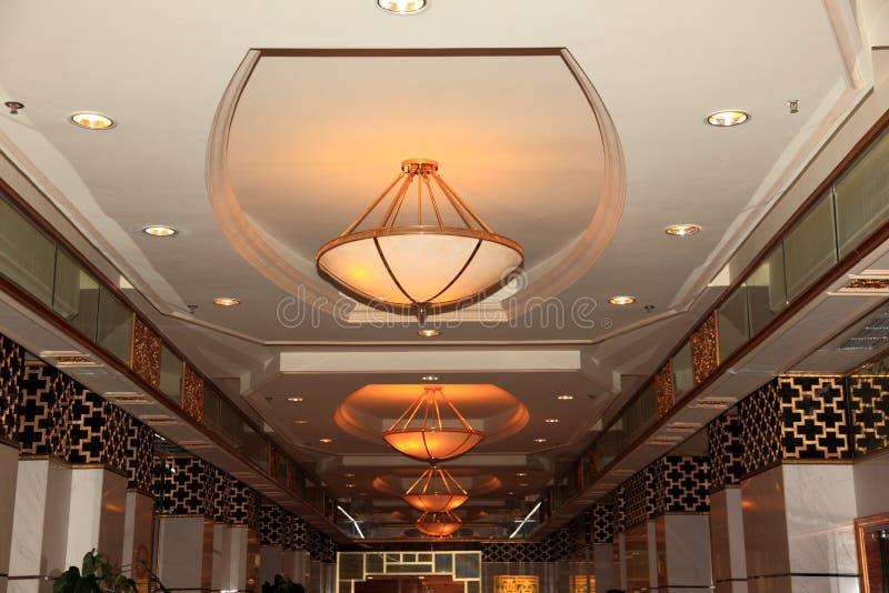 μεγάλο ξενοδοχείο αιθ&omi στοκ εικόνα