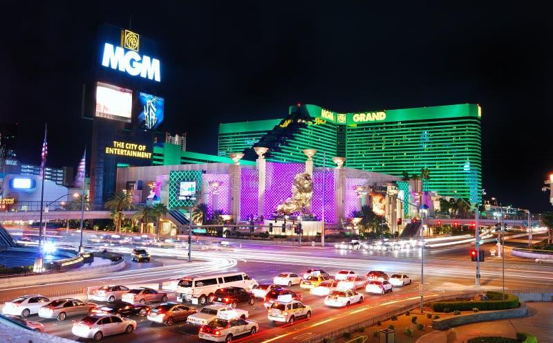 Μεγάλο ξενοδοχείο MGM στο Λας Βέγκας στοκ φωτογραφία