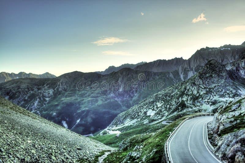 Μεγάλο πέρασμα του ST Bernard στοκ εικόνα με δικαίωμα ελεύθερης χρήσης