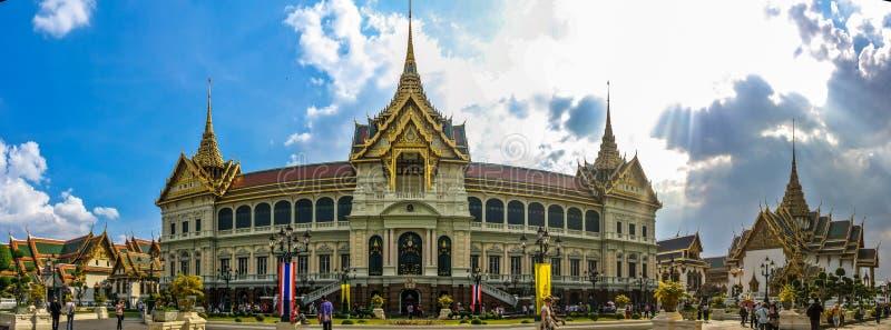Μεγάλο παλάτι, Μπανγκόκ στοκ εικόνα με δικαίωμα ελεύθερης χρήσης
