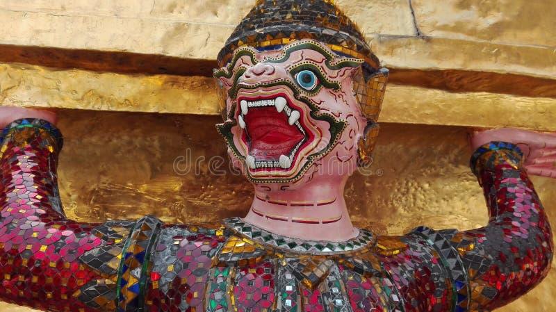 Μεγάλο παλάτι στη Μπανγκόκ Ταϊλάνδη στοκ εικόνες