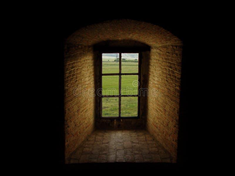 Download μεγάλο παλαιό παράθυρο στοκ εικόνα. εικόνα από τοίχος, δωμάτιο - 61053