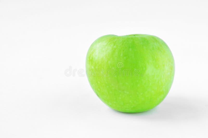 Μεγάλο πράσινο μήλο στοκ εικόνες