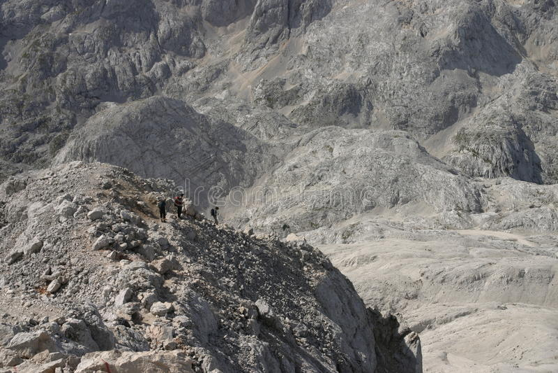 μεγάλο ταξίδι βουνών στοκ φωτογραφία
