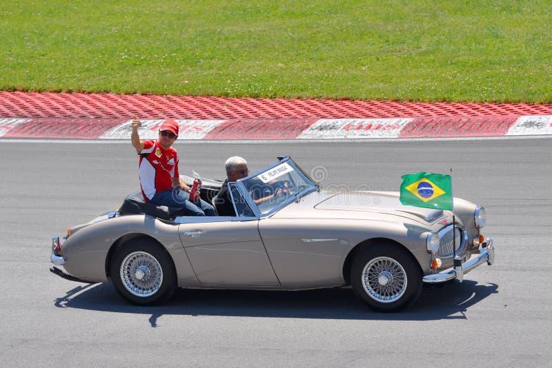 μεγάλο massa του Felipe του 2012 καναδικό f1 prix στοκ φωτογραφίες