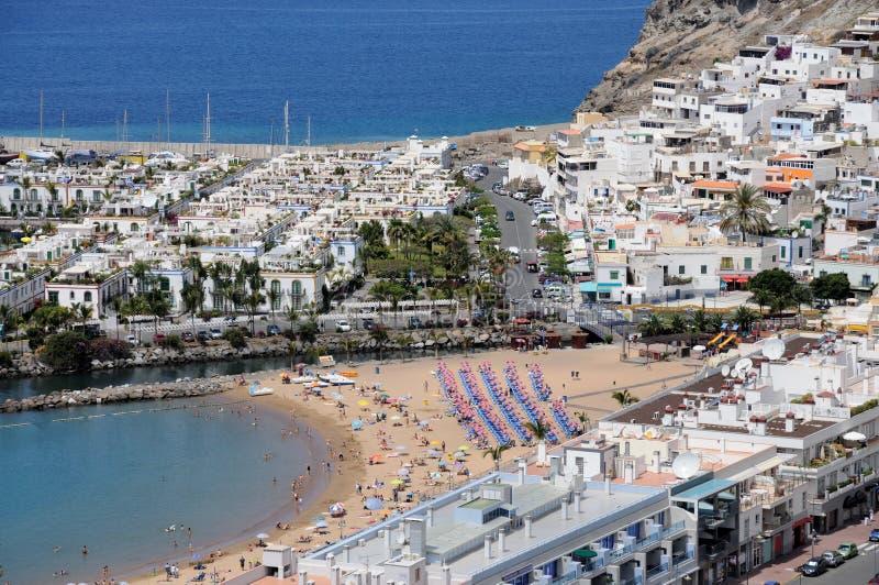 μεγάλο mogan puerto καναρινιών de στοκ φωτογραφίες με δικαίωμα ελεύθερης χρήσης