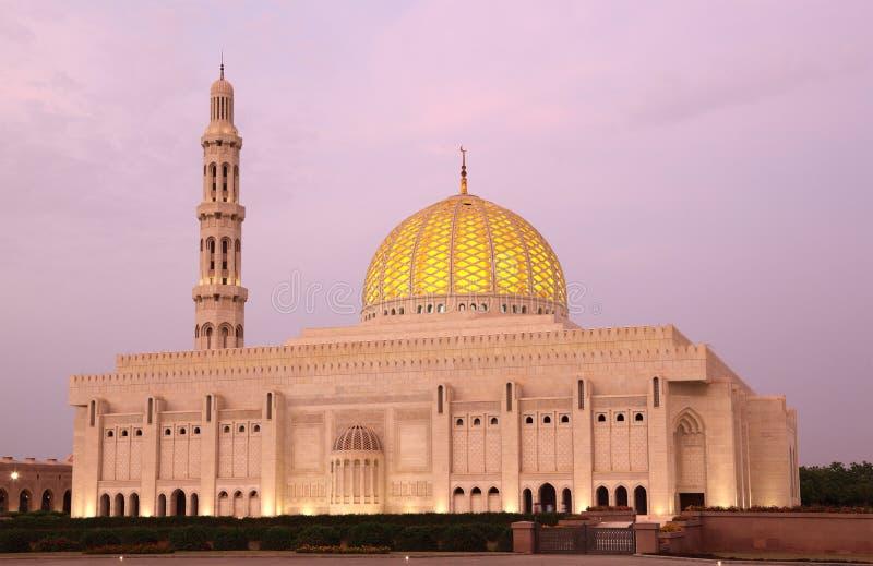 μεγάλο muscat Ομάν μουσουλμ&alpha στοκ εικόνες