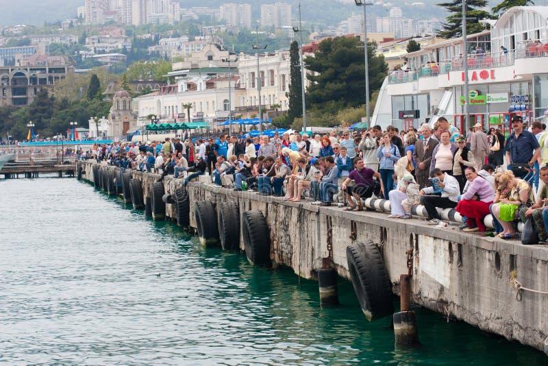 μεγάλο p1 powerboat prix yalta του 2010 στοκ φωτογραφίες με δικαίωμα ελεύθερης χρήσης