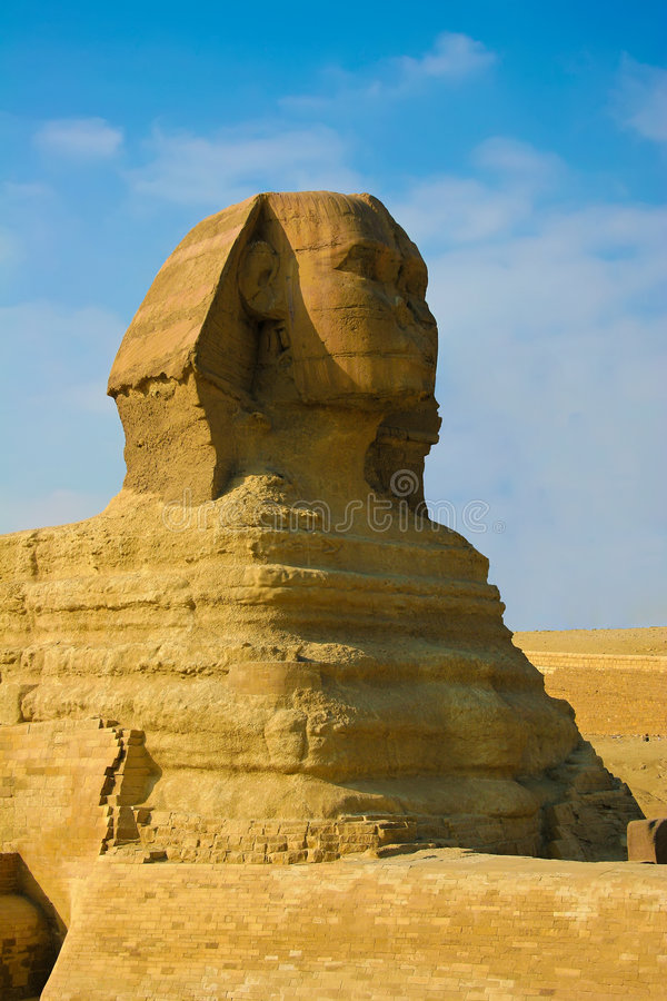 μεγάλο sphinx στοκ φωτογραφίες