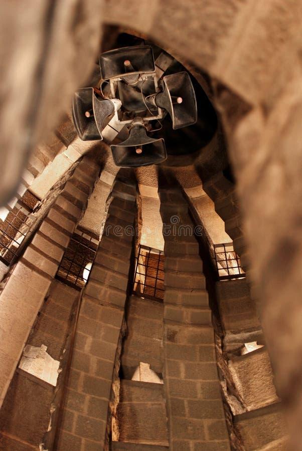 μεγάφωνα sagrada familia στοκ εικόνες με δικαίωμα ελεύθερης χρήσης