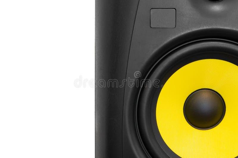 Μεγάφωνο υψηλής ποιότητας για σύστημα ήχου hifi και στούντιο ηχογράφησης στοκ φωτογραφίες με δικαίωμα ελεύθερης χρήσης