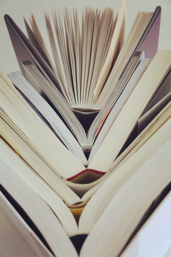 μεγάλα βιβλία στοκ εικόνα