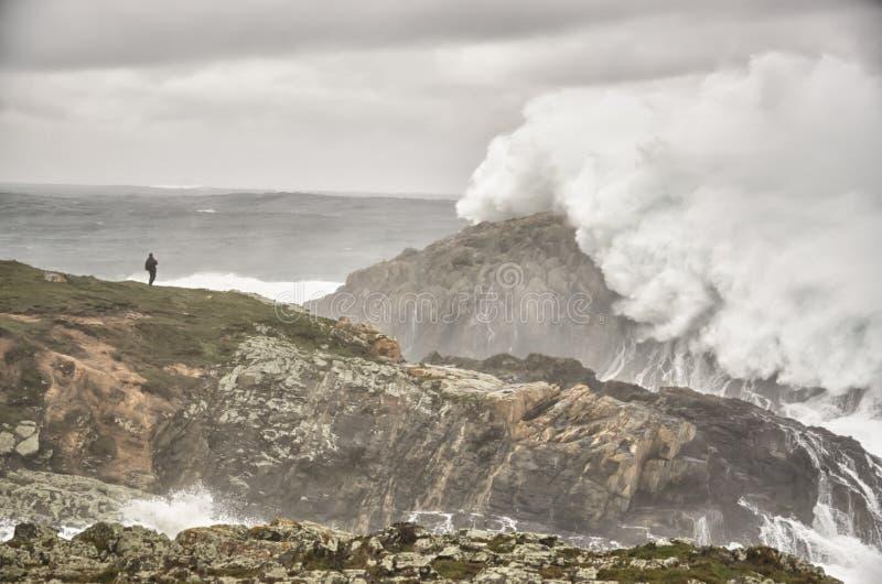 μεγάλα κύματα στοκ εικόνα