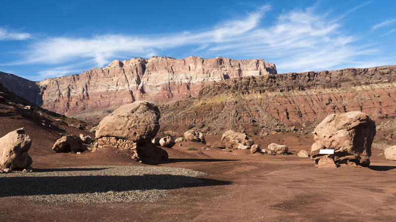 Μεγάλες κόκκινες πέτρες στοκ φωτογραφία με δικαίωμα ελεύθερης χρήσης