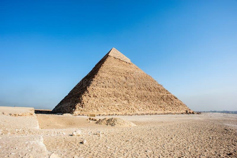 Μεγάλες πυραμίδες Αίγυπτος στοκ εικόνα με δικαίωμα ελεύθερης χρήσης