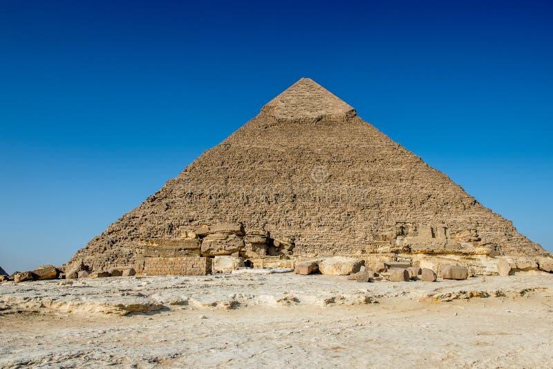 Μεγάλες πυραμίδες Αίγυπτος στοκ φωτογραφίες με δικαίωμα ελεύθερης χρήσης