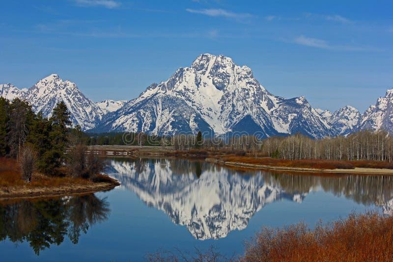 Μεγάλη άποψη Teton στοκ εικόνες με δικαίωμα ελεύθερης χρήσης