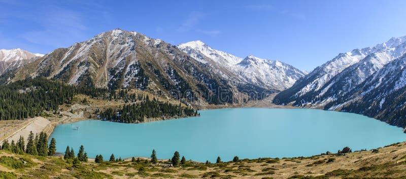 μεγάλη λίμνη της Alma Ata στοκ εικόνα