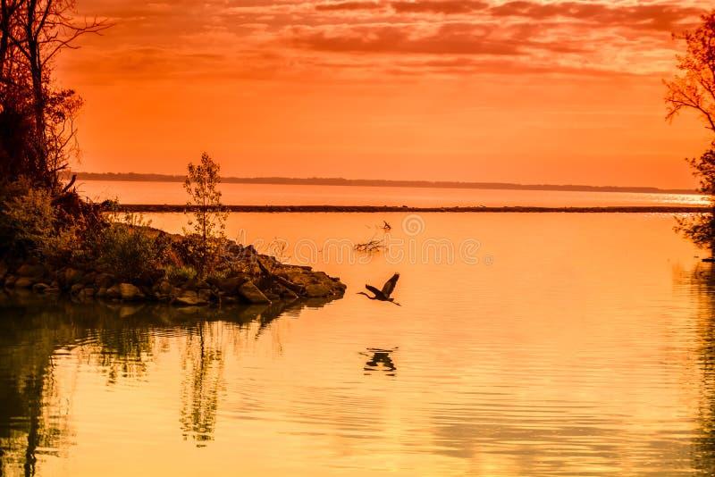 Μεγάλη λίμνη ST Marys στοκ εικόνα