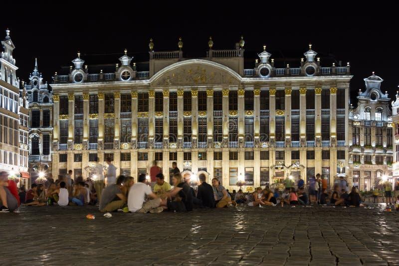 Μεγάλη θέση τη νύχτα brutus Βέλγων στοκ εικόνες